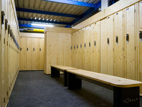 Ski lockers in Le Châble