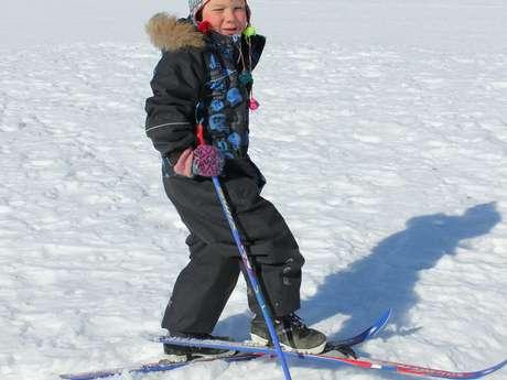 Cours privés Ski alpin - tout petits 3 ans - ESF