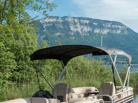 Croisière découverte du lac en bateau (1h15)