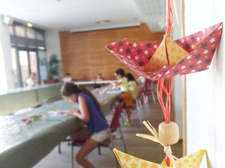 Atelier estival enfants - Origami