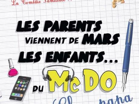 Les parents viennent de Mars et les enfants du MacDo