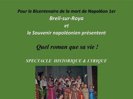 Spectacle historique et lyrique