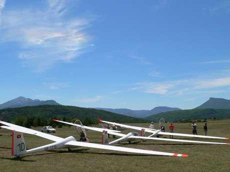 Vol d'initiation en planeur avec AAA