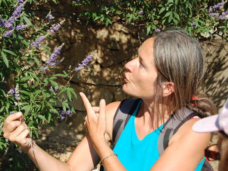 Guide naturaliste Marjorie Ughetto