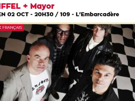 Concert : EIFFEL + Mayor