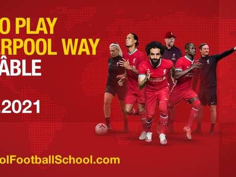 Camp FC Liverpool pour juniors
