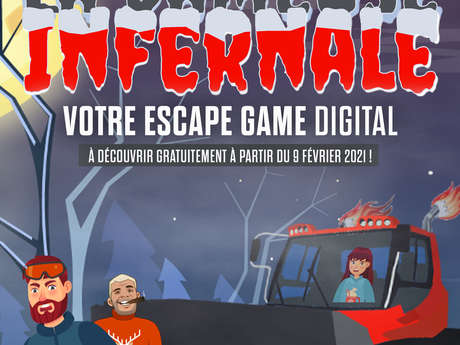 Escape Game digital : la dameuse infernale