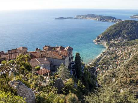 Cote d'Azur gardens and villas hiking