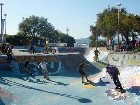 Le Jardin des Glisses ou Skate Park