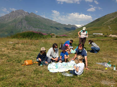 """The Val Cenis summer of culture - Game-tour: """"A dam in my landscape"""""""