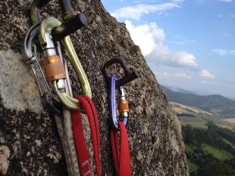 Bastille rock climbing site