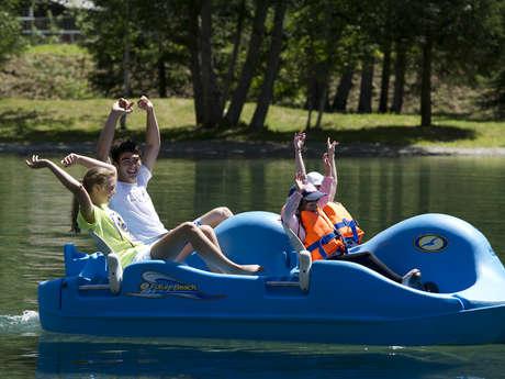 Barques, pédalos et kayak  et paddle du Pontet