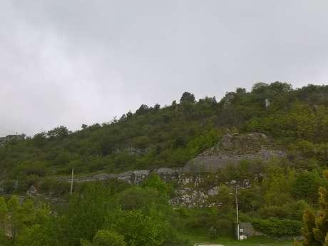 Col de Castillon - Sito del vecchio villaggio