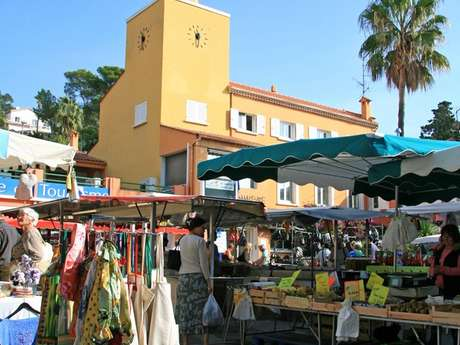Traditionnal market in Les Issambres
