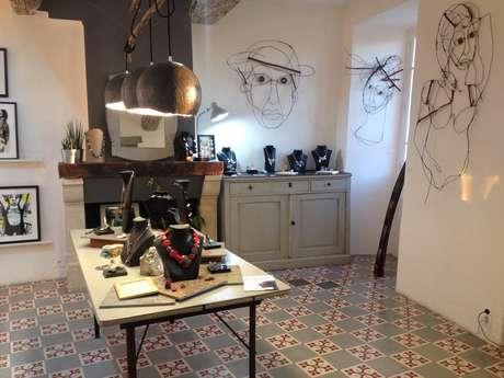 La boutique des 3 filles - Atelier galerie d'artistes