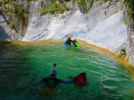 Le canyoning avec Terra Nova
