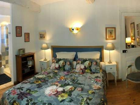 La Closerie de l'Hermitage - Chambre Bleue - Lemonnier Sophie