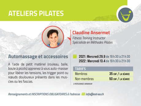 Atelier Pilates : automassage et accessoires