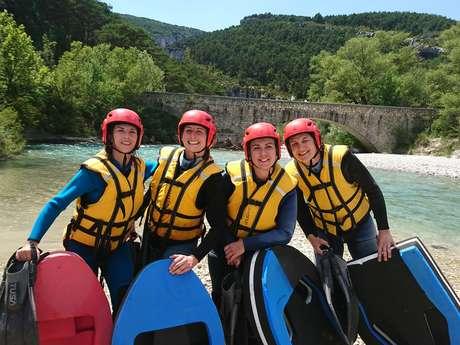 Roman 'eau rafting