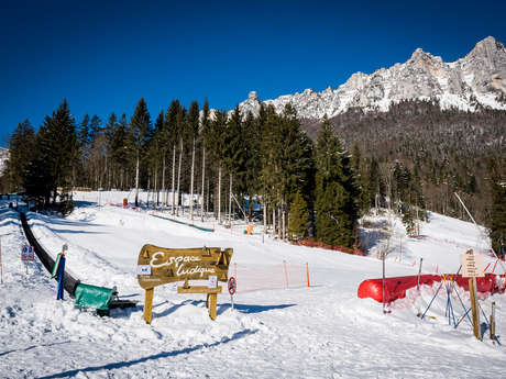 Espace ludique du Col de Marcieu: hiver