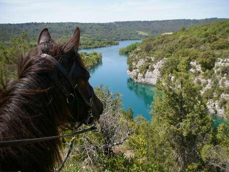 On horseback with Les Chevaux du Verdon