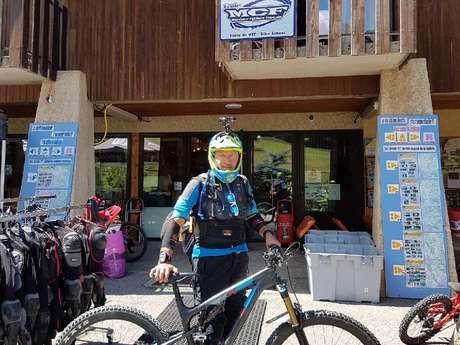Henri Mevolhon, mountain biking & hiking guide