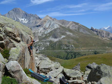 Site d'escalade de la Roche Moutche
