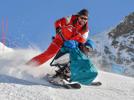 Handi ski avec l'esf