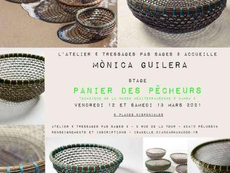 Stage de Vannerie : Panier des pêcheurs avec Monica Guilera