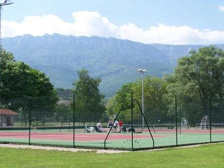Courts de tennis pontcharra