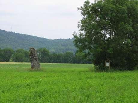 Menhir de pierre