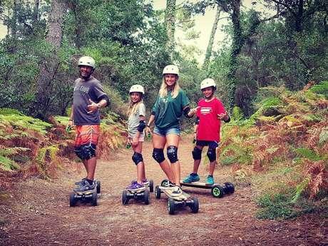Skate Electrique tout Terrain ECORIDE