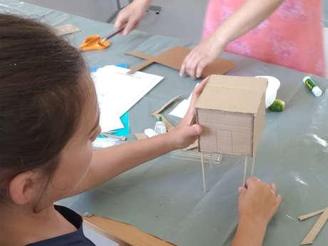Atelier estival enfants - Le p'tit architecte
