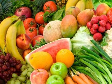Organic market of Meylan
