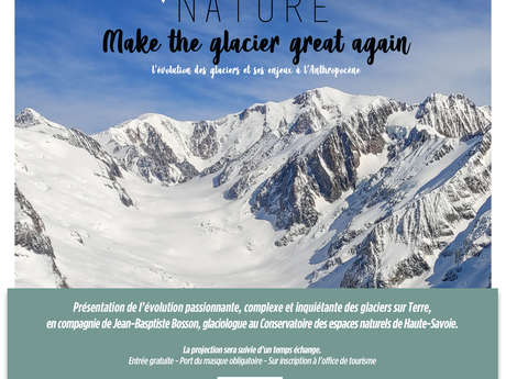 Conférence - Projection : Make the glacier great again