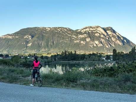 Tour des Bauges à vélo - Etape Chambéry Montagnes- Du Bourget du Lac au Lac Saint André