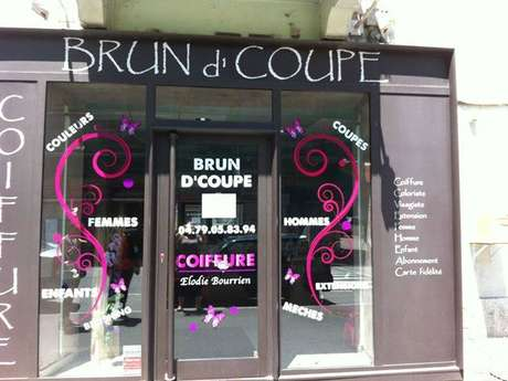 Coiffure Brun d'Coupe