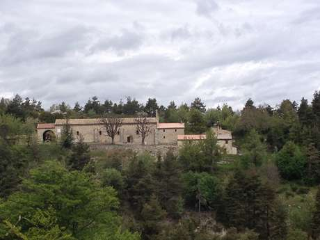 La chapelle Saint Jean du Désert depuis Annot