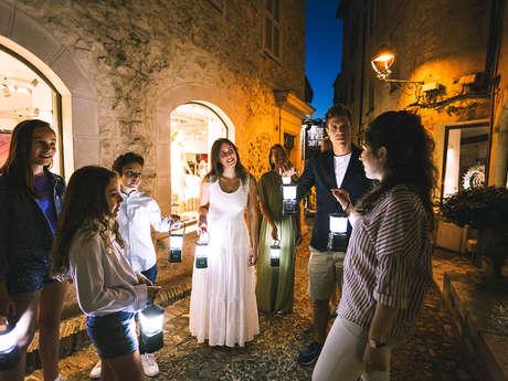 La visite nocturne à la lanterne