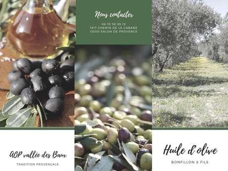 Huile d'olive Bonfillon