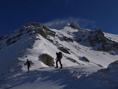 Raquette Alpine au Pays de La Meije avec Paulo Grobel
