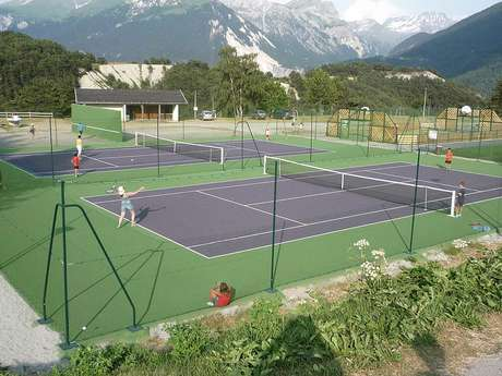 Tennis playgrounds