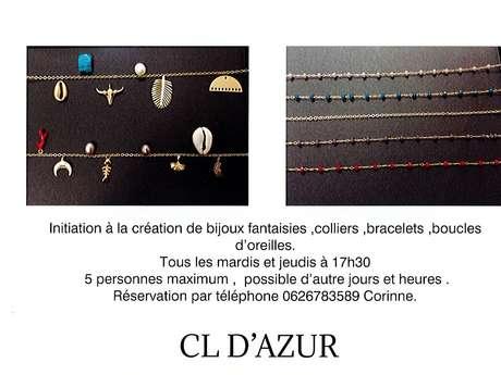 Initiation à la création de bijoux