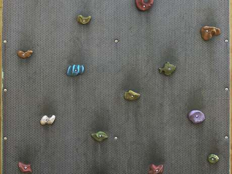 Artificial climbing wall