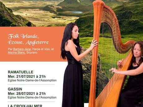 Ceiltika Concert - Folk Harp and Voice Duo