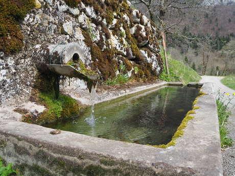 Sentier des fours et des fontaines de Corbel