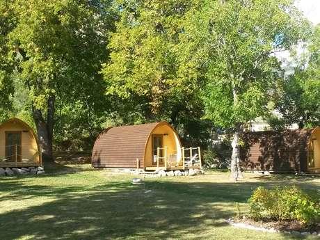 Cabanes forestières Le Nouveau Martagon