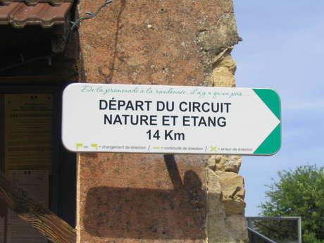 Circuit Nature et Etang