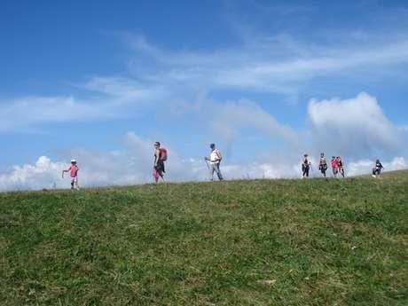 Mont Salève en marche