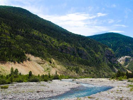 003B TransVerdon Tronçon - Colmars-les-Alpes à Thorame-Haute